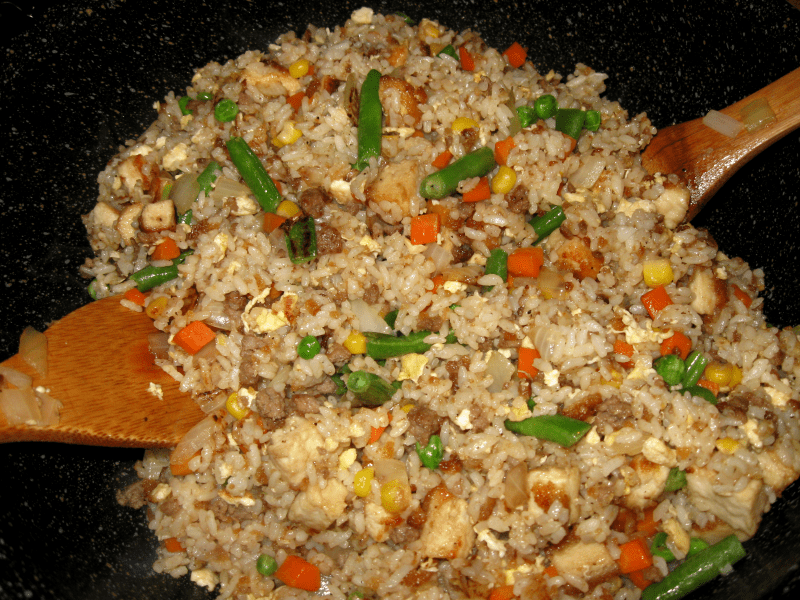 Recipes bokkum bop korean fried rice korean style fried rice ccuart Image collections