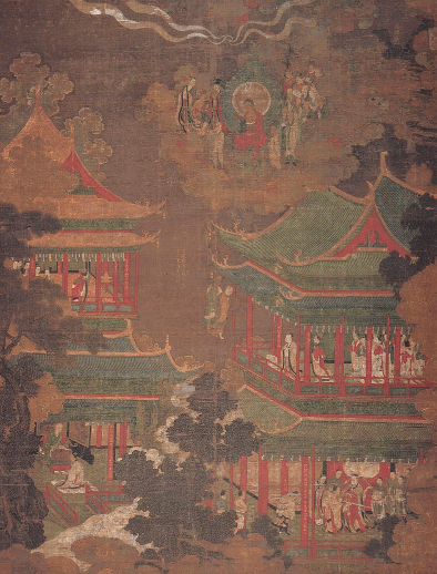 An illustration depicting the exemplary architecture of Goryeo.