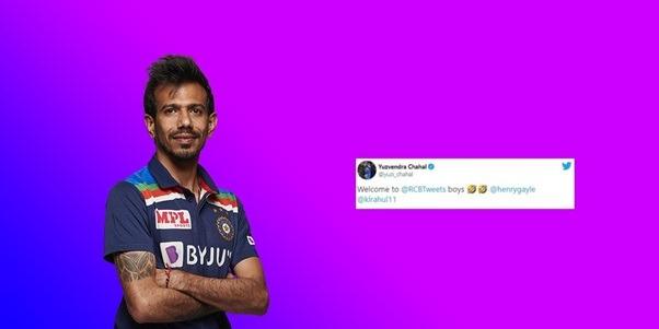 Yuzvendra Chahal trolls Punjab Kings on Twitter for their Jersey similar to RCB